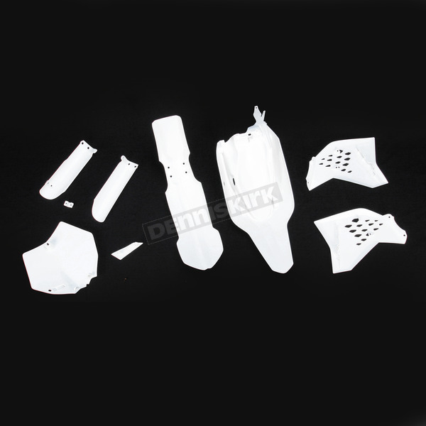 Acerbis White Full Replacement Plastic Kit - 2253040002