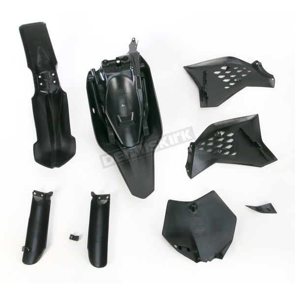 Acerbis Black Full Replacement Plastic Kit - 2320850001