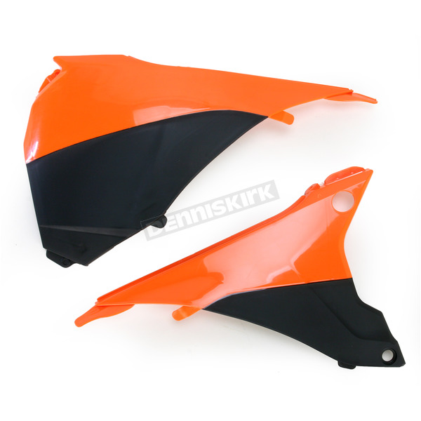 Acerbis Orange/Black Air Box Cover  - 2374121008