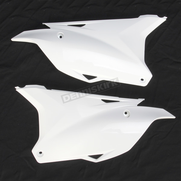Acerbis White Side Panels  - 2374080002