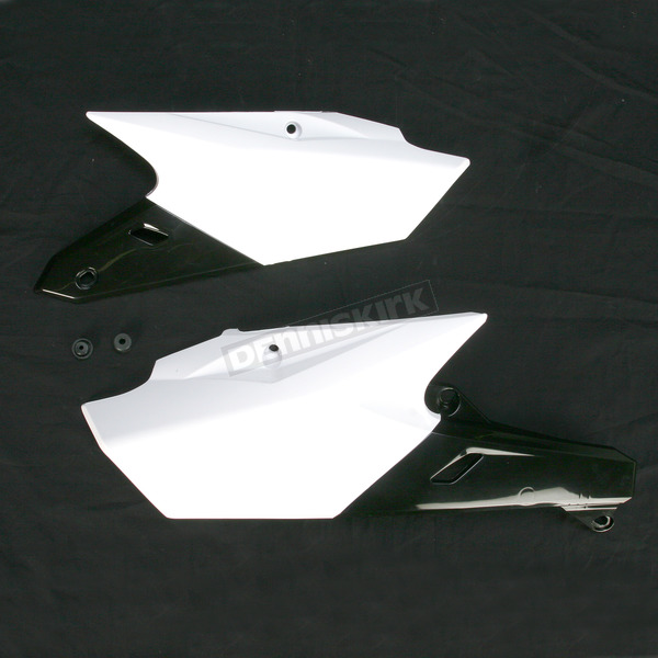 Acerbis White/Black Side Panels  - 2374151035