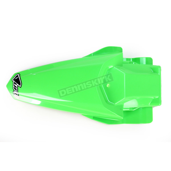 UFO KX Green MX Rear Fender  - KA04727-026