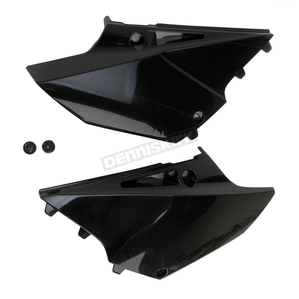 Acerbis Black Side Panels - 2402990001