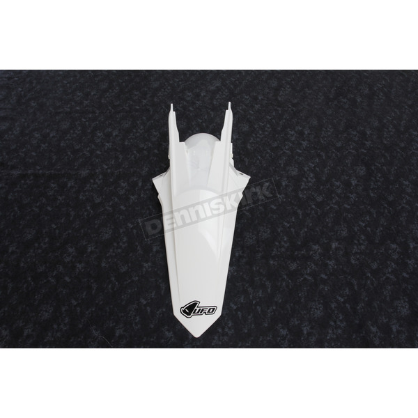 UFO White Rear Fender - KT04060-047