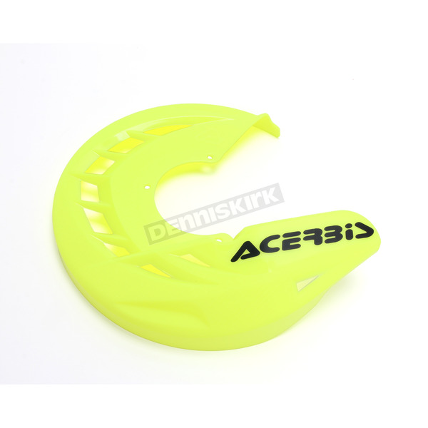 Acerbis Fluorescent Yellow X-Brake Front Disc Cover - 2250244310