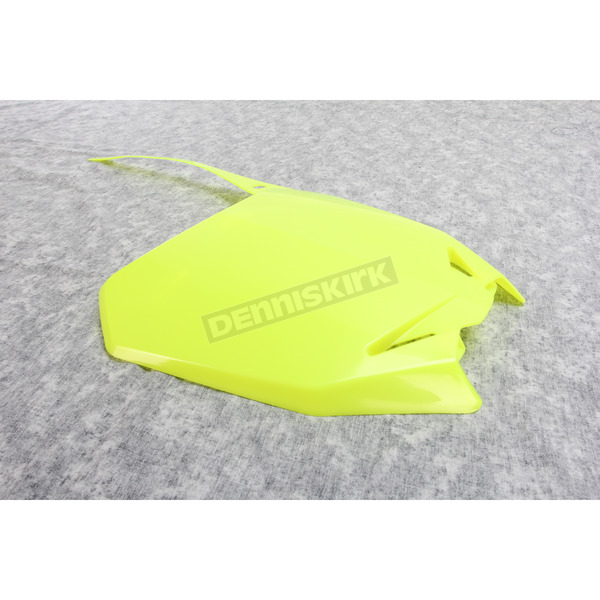 Acerbis Fluorescent Yellow Front Number Plate - 2113634310
