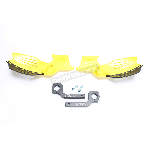 UFO Yellow Vulcan Handguards - PM01650-102