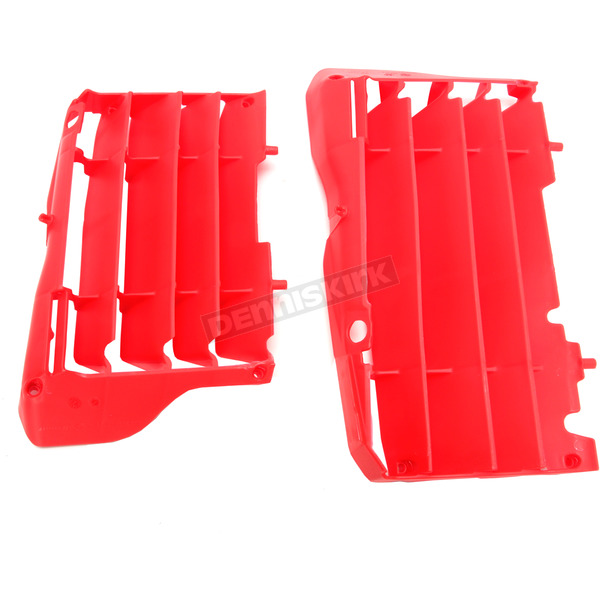 Polisport Red Radiator Louvers - 8462000002