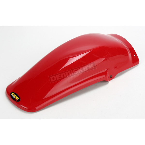 Maier MX Style Red Rear Fender - 123052