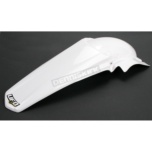 UFO White Rear Fender - YA03881-046