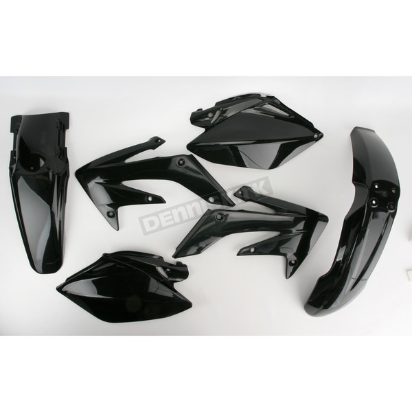 Acerbis Black Body Plastic Kit - 2041040001