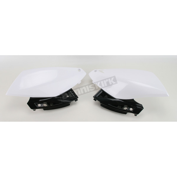 Acerbis White Side Panels - 2171800002
