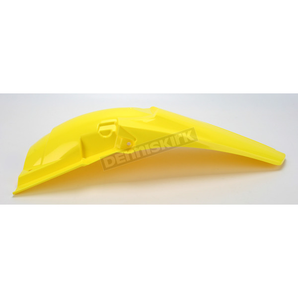 Acerbis Yellow/Black Rear Fender - 2171930231