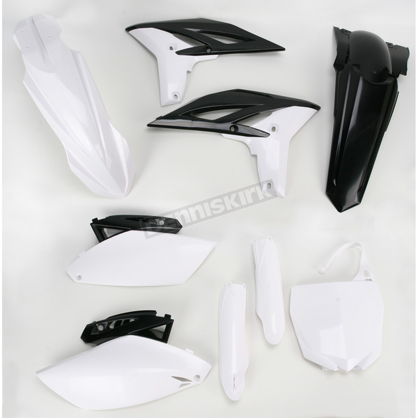 Acerbis OEM 11 White Full Replacement Plastic Kit - 2198012884