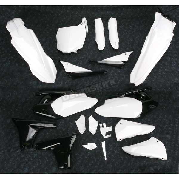 Acerbis OEM 10 White Full Replacement Plastic Kit - 2198020002