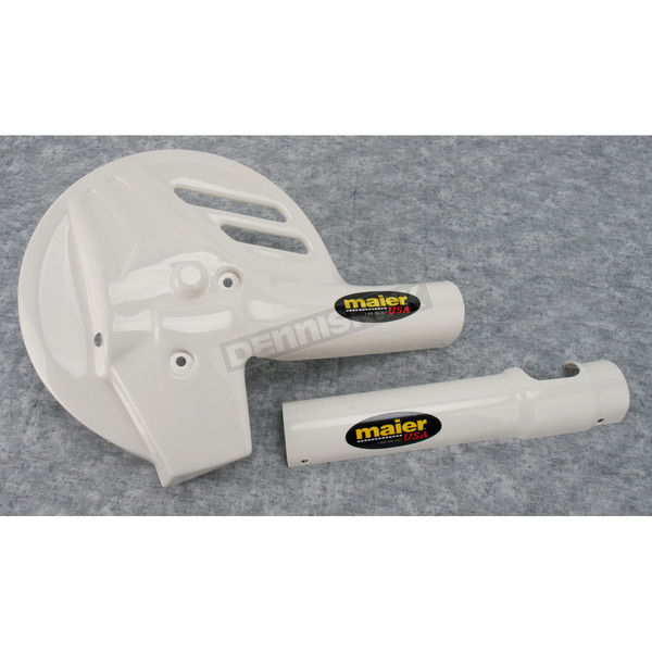 Maier White Fork/Disc Guards - 596741