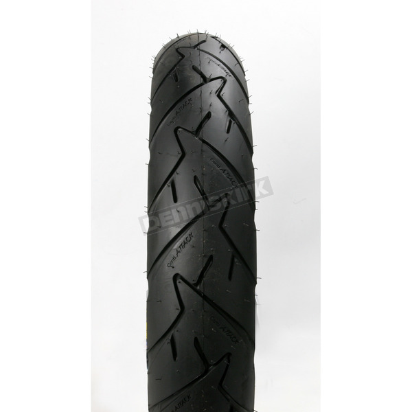 Continental Front Conti Trail Attack 100/90H-19 Blackwall Tire - 02400430000