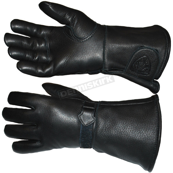 Churchill Maverick Classic Waterproof Gauntlet Gloves - CGTW-BLK-M