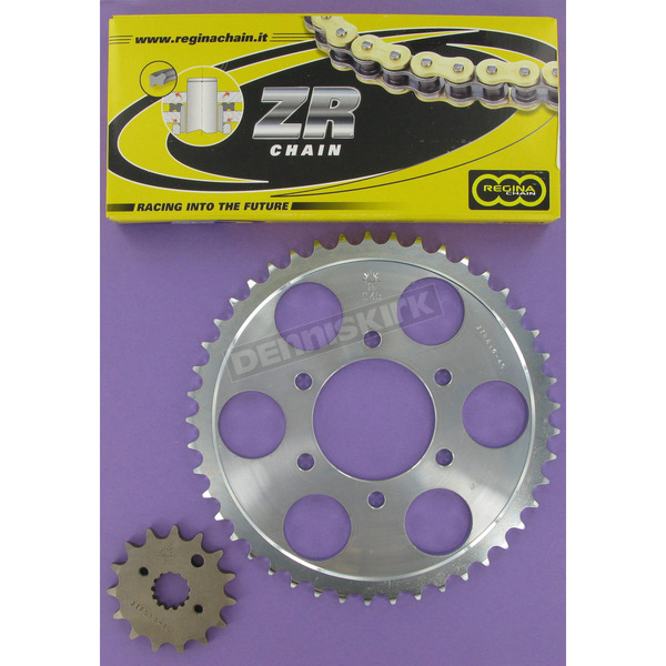 Regina 530ZRP OEM Chain and Sprocket Kits - 6ZRP110KSU018
