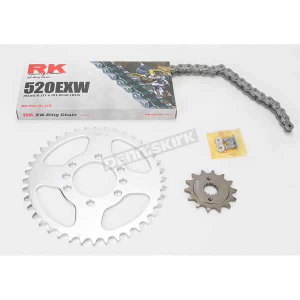 RK 520EXW Chain and Sprocket Kit - 3044-030S
