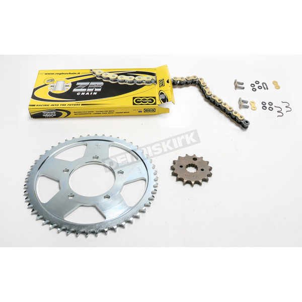 Regina 530ZRT OEM Chain and Sprocket Kit - 6ZRT112KSU02