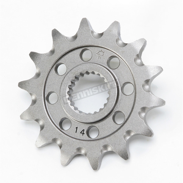 Self-Cleaning Steel 13 Tooth 520 Front Sprocket - JTF1323.14SC