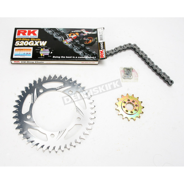 RK Quick Acceleration 520XSO Chain Kit with Light Weight Sprockets - 3066-068R