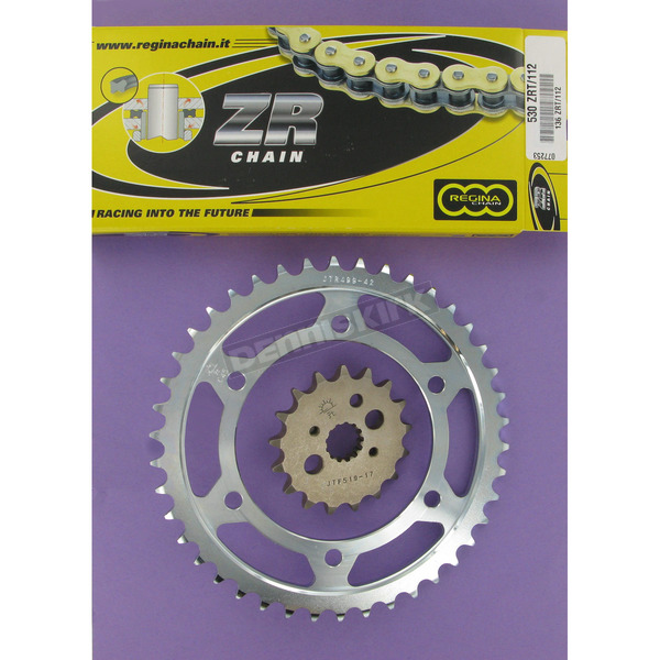 Regina 530ZRT OEM Chain and Sprocket Kits - 6ZRT112KKA01
