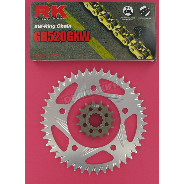 RK GB520GXW Chain and Sprocket Conversion Kit - 1092-938RG