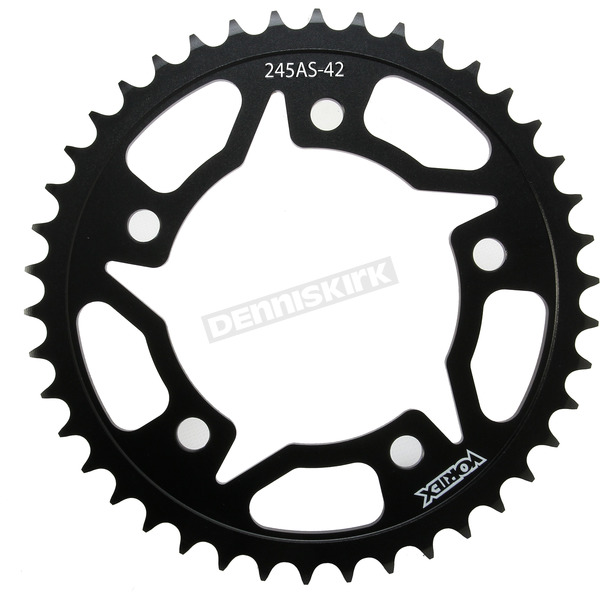 Vortex Rear Steel Sprocket - 245AS-42