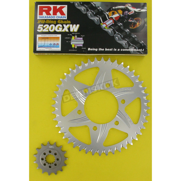 RK 520GXW Chain and Sprocket Kit - 2098-948R