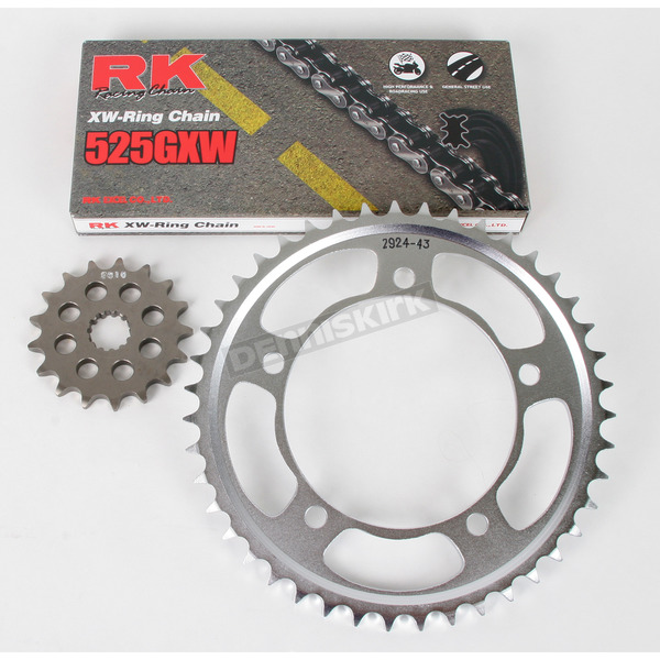 RK 525GXW Chain and Sprocket Conversion Kit - 3106-071W