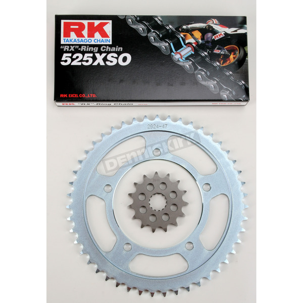RK GB525XSO Chain and Sprocket Kit - 3068-070W
