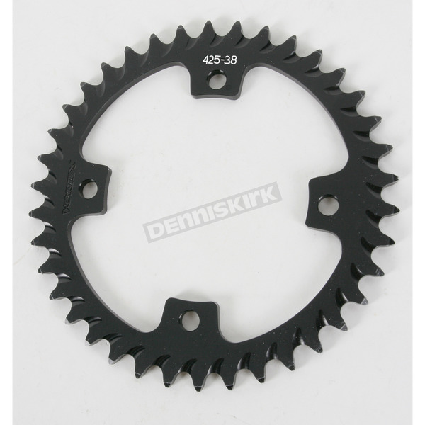 Vortex 38 Tooth Rear Aluminum Black Sprocket - 425K-38