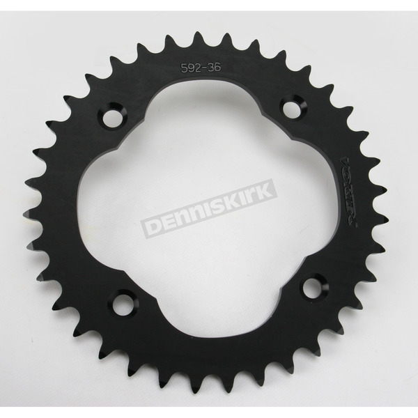 Vortex 36 Tooth Rear Aluminum Black Sprocket - 592K-36