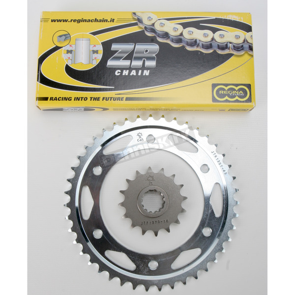 Regina 525ZRP OEM Chain and Sprocket Kit - 7ZRP112KHO012
