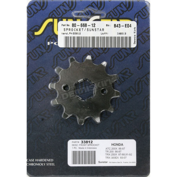 12 Tooth Sprocket - 33812
