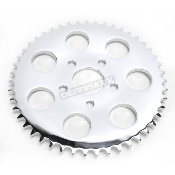 Drag Specialties Chrome Rear 47 Tooth Wheel Sprocket - 1210-0981