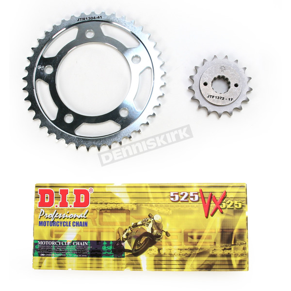 DID VX2 X-Ring Chain and Sprocket Kit - DKH-011