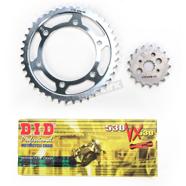 DID VX2 X-Ring Chain and Sprocket Kit - DKK-014G