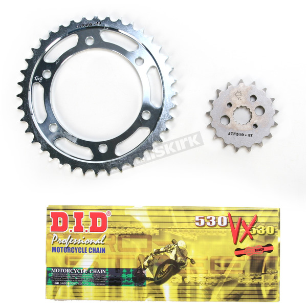 DID VX2 X-Ring Chain and Sprocket Kit - DKK-016G