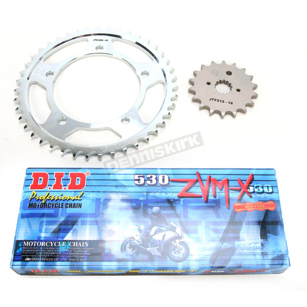 DID ZVMX X-Ring Chain and Sprocket Kit - DKS-018G