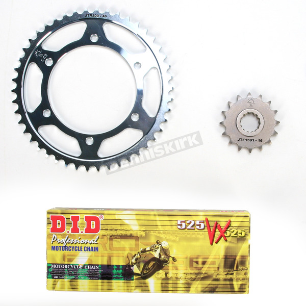 DID VX2 X-Ring Chain and Sprocket Kit - DKY-012