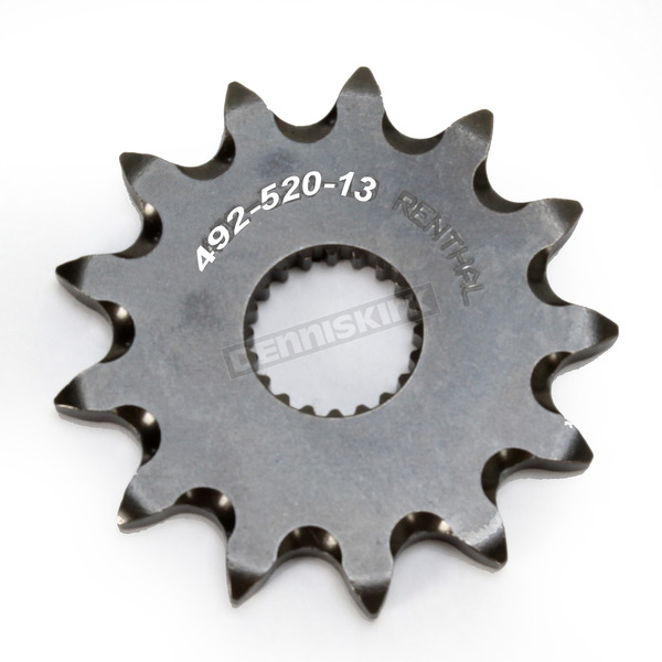 Renthal Nickel Chromium Front Sprocket - 49252013GP