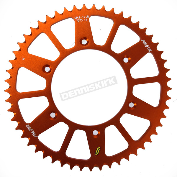 Sunstar Rear Sprocket - 5-354753OR