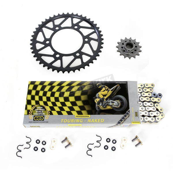 Regina 520ZRT OEM Chain and Sprocket Kit - KD041