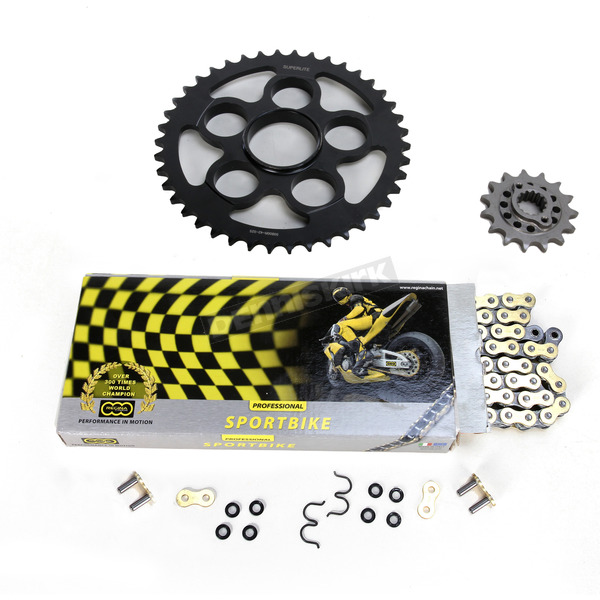 Regina 525ZRP OEM Chain and Sprocket Kit - KD029