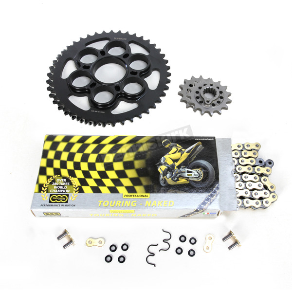 Regina 525ZRP OEM Chain and Sprocket Kit - KD053