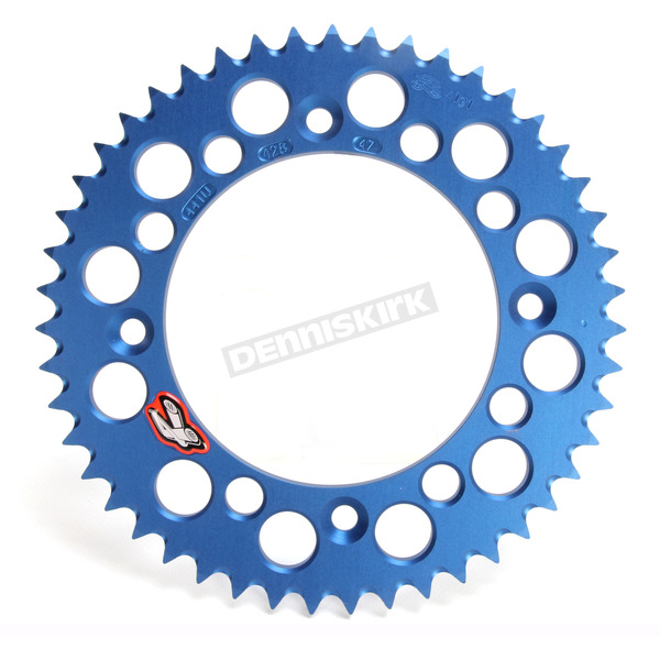 Renthal Blue Husqvarna Rear Sprocket - 441U-428-47GPBU