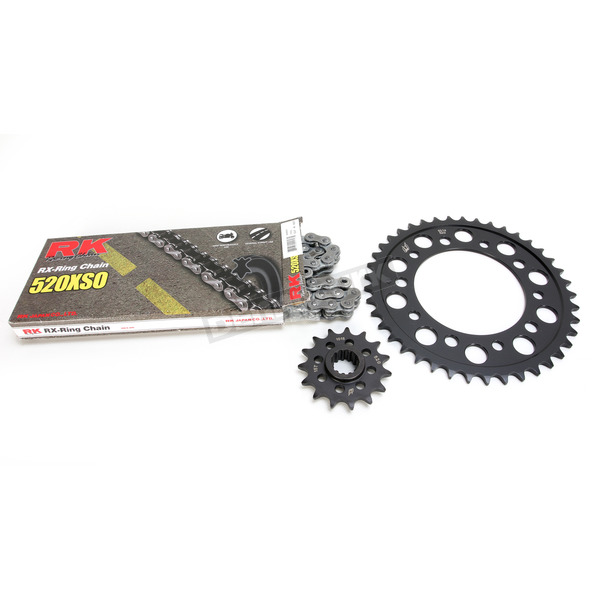 RK Natural 520 HondaXSO Chain and Sprocket Kit - 1052-130E